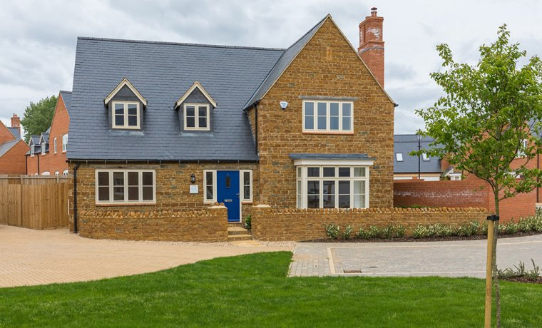 Plot 4 front view