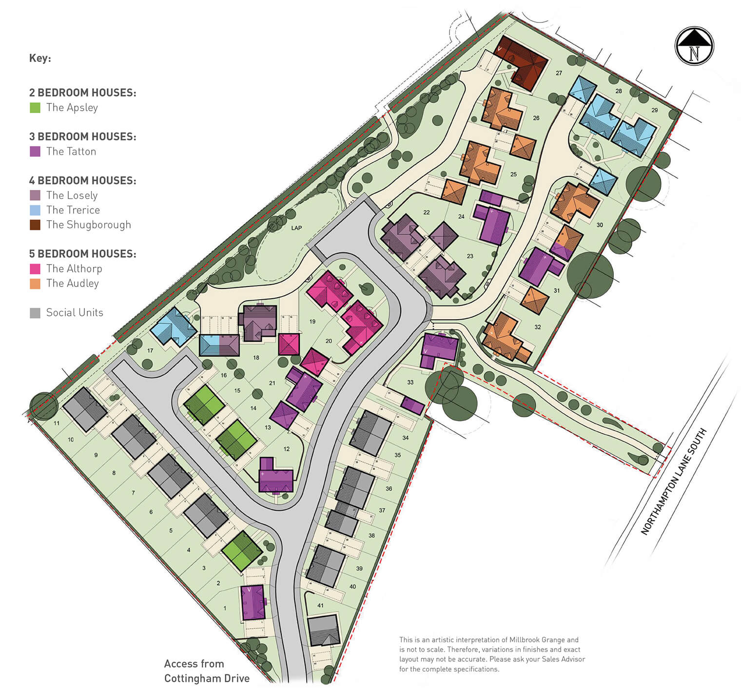 Moulton Site Plan