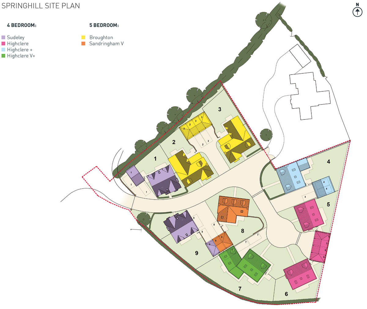 Spring Hill Site Plan